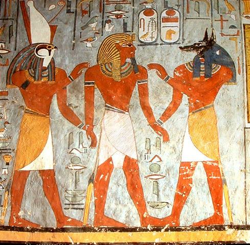 EGIPCIOS EN EL AÑO 2600 AC