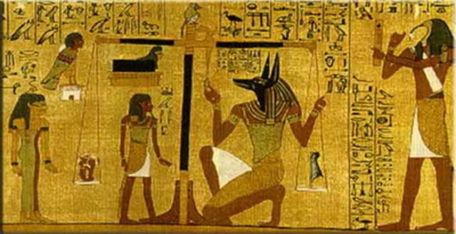 EGIPCIOS EN EL AÑO 2000 AC