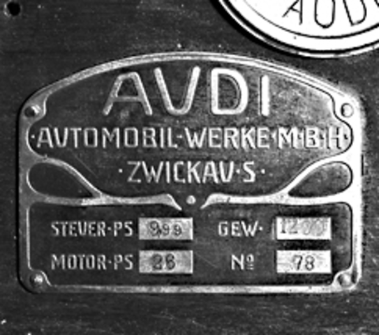 August Horch Founds Audi Automobilwerke GmbH Zwickau