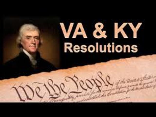 Kentucky and Virginia Resolves