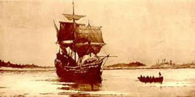 Mayflower Departs
