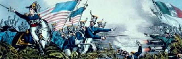Start of the Mexican American War