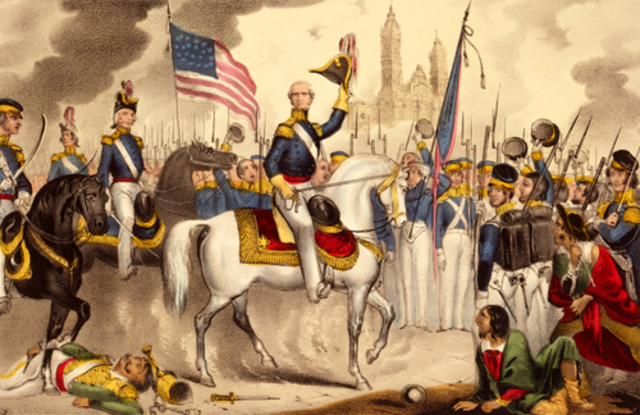 End of the Mexican American War- Treaty of Guadalupe Hidalgo