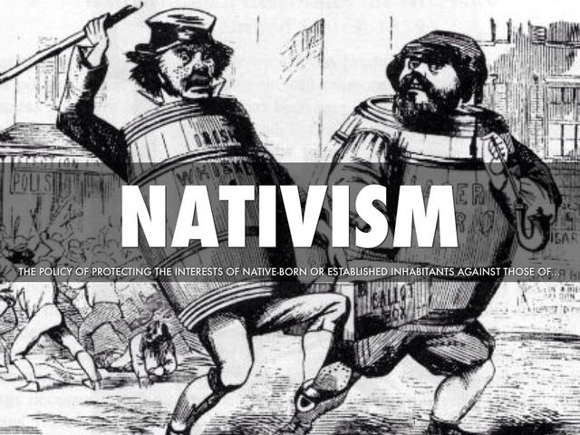 Nativism 1830-1855