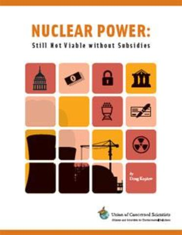 Nuclear Power: Still Not Viable without Subsidies