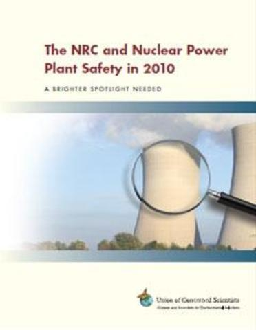 The NRC and Nuclear Power Plant Safety in 2010