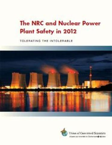 The NRC and Nuclear Power Plant Safety