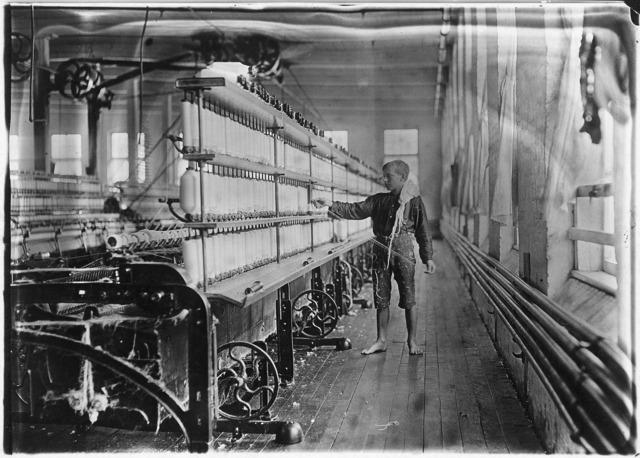 First Cotton Thread Spinner