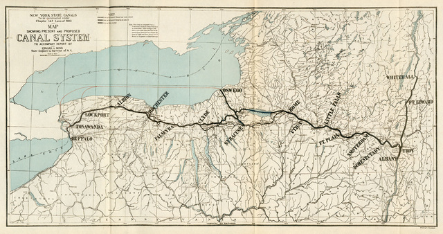The Start of the Erie Canal