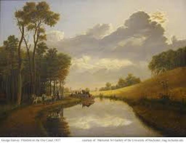 Completion of the Erie Canal