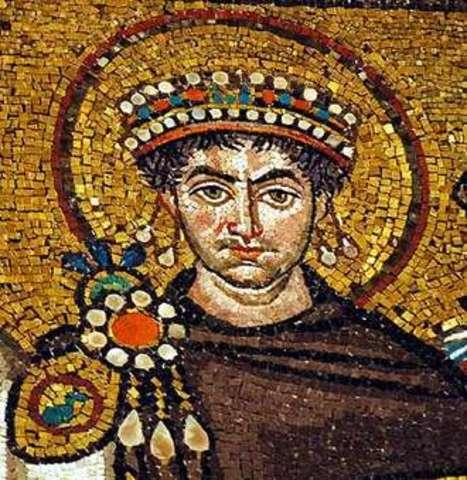 Justinian kejser i det østromerske rige