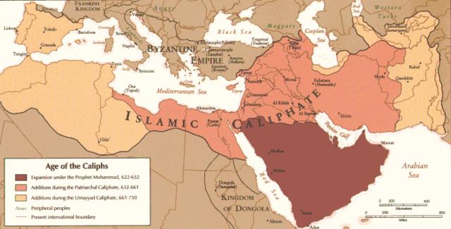 Den arabiske ekspansion