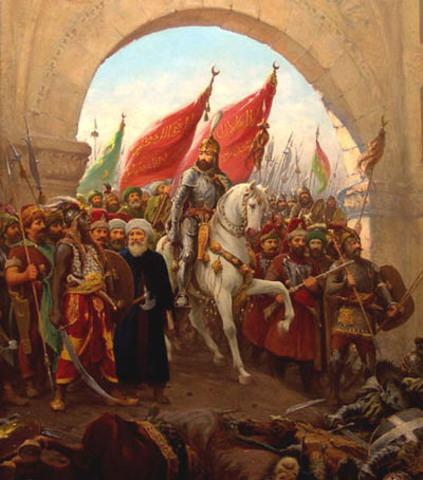 Konstantinopels fald for tyskerne