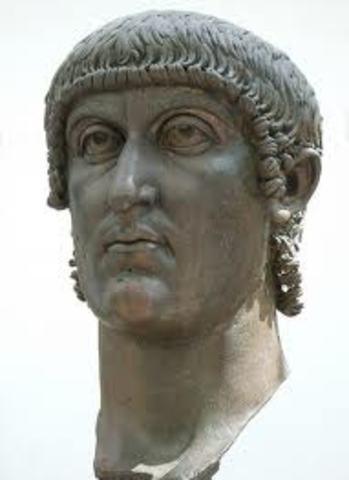 Konstantin den første - enekejser