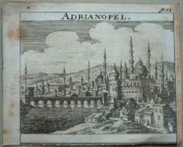 Gorterne besejrede romerne ved Adrianopel