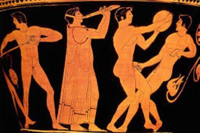 Den græske olympade blev set som hedenske og blev forbudt
