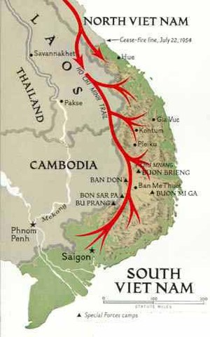 Creation of the Ho Chi Minh Trail