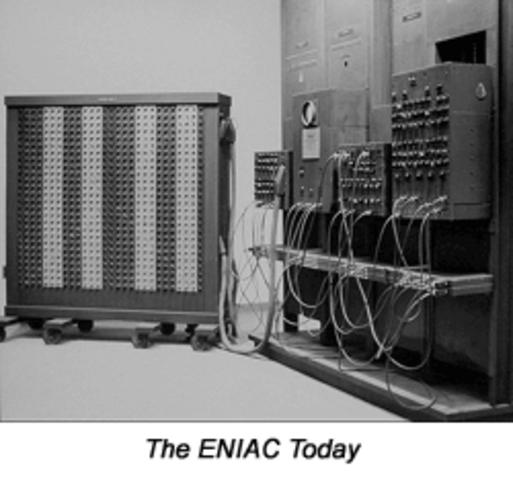 First Computer Built
