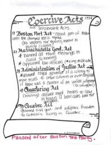 Coercive Act