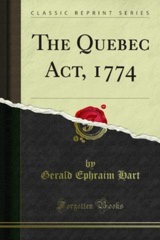 Quebec Acts