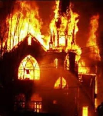 Catholic Covenant Burned in near Boston
