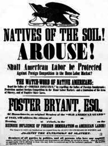 prejudices of american 'nativists'