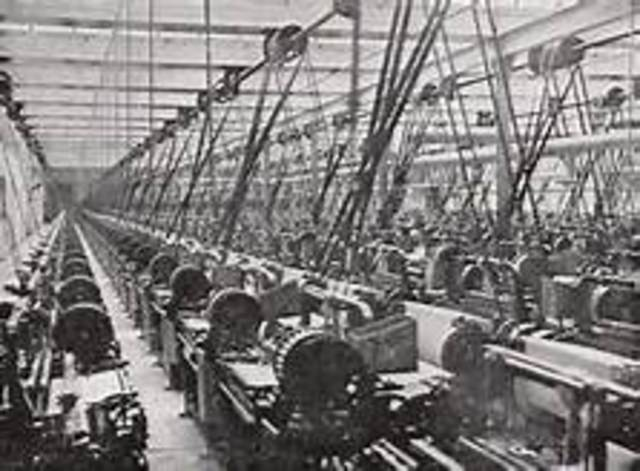 Cotton is Poured into the Mills