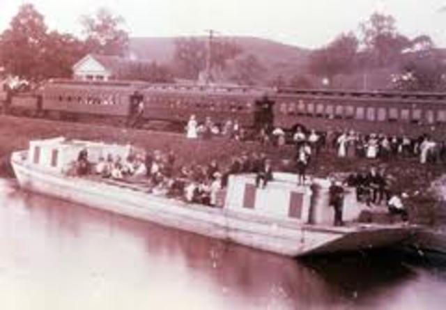Canal vs Railroad