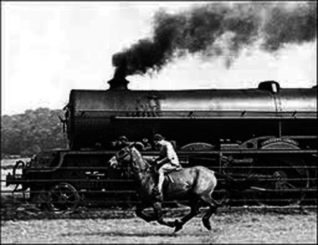 opposing railroads