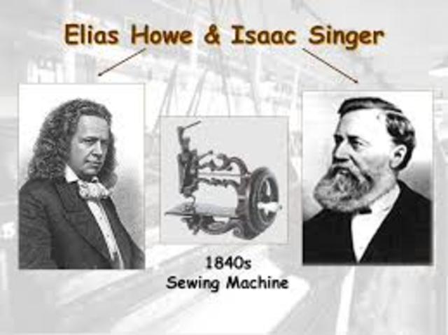 Elias Howe & Issac Singer