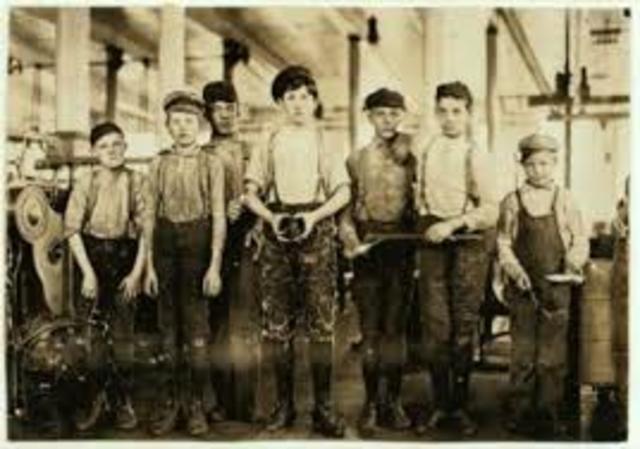 kid slave workers