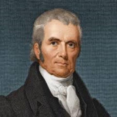 Death of John Marshall