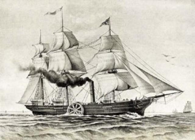 The Steamship, Savannah