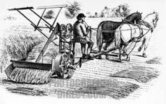The Mechanical Mower Reaper
