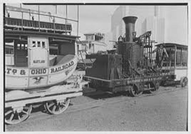 First Railroad in America