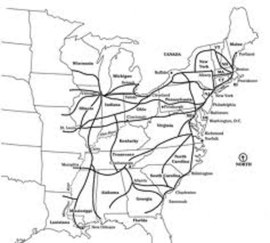America has Extensive Railroad