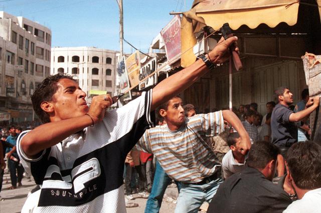 Den anden Intifada - Al-Aqsa-intifada