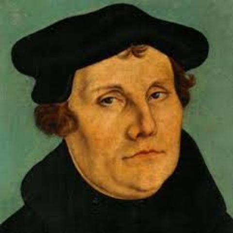 Geburt von Luther