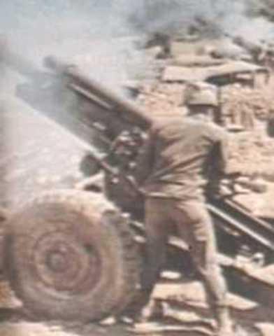 First major battle of Vietnam War for American troops