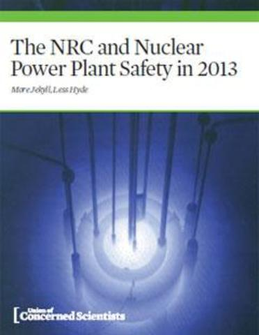 The NRC and Nuclear Power Plant Safety in 2013