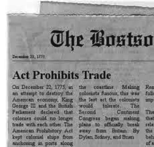 Prohibitory Act