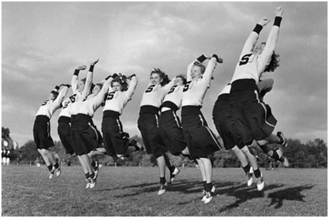 Cheerleading Welcomes Women