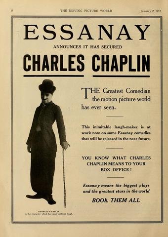 Chaplin Joins Essany Studios