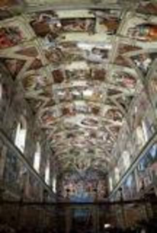 Sistine Chaple is completed