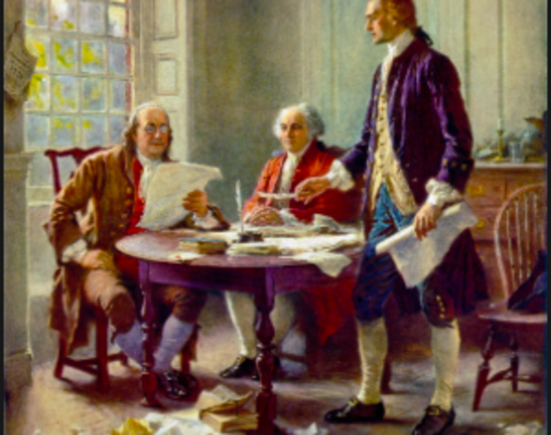 signing of the delcaration of independence