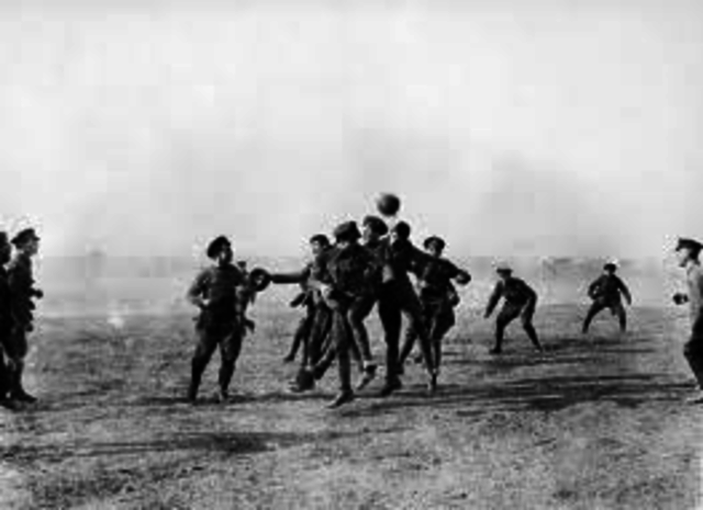 Unofficial Christmas Truce along the Western Front