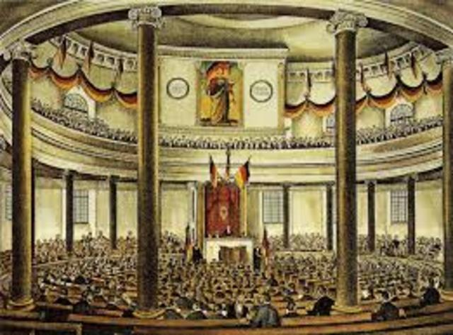 Frankfurnt Assembly demands unity