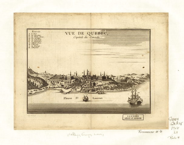 Quebec founded by France