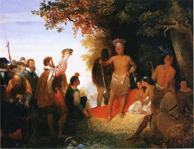Pohattan's Attack Jamestown Again
