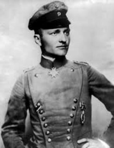 Von Richthofen passes his flight examination
